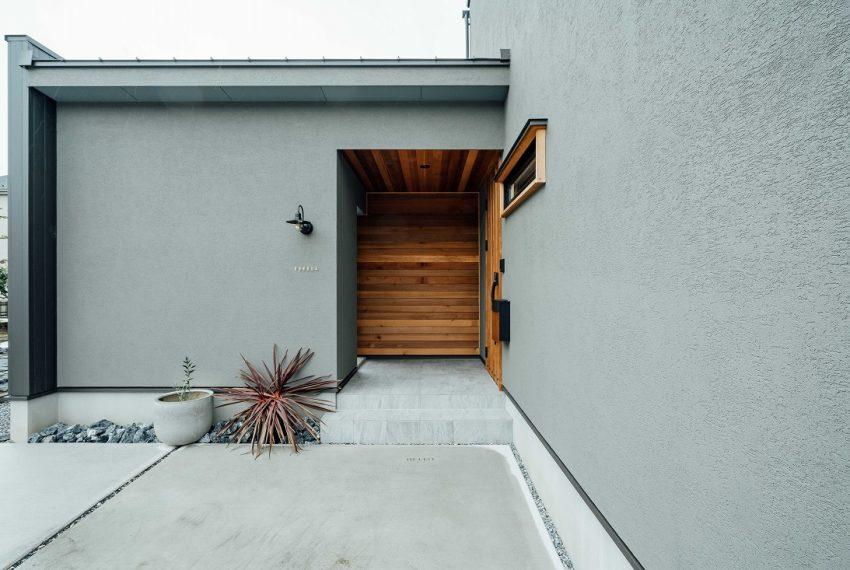 Stylish minimal house